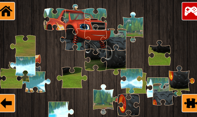 Monster Truck Jigsaw Puzzle