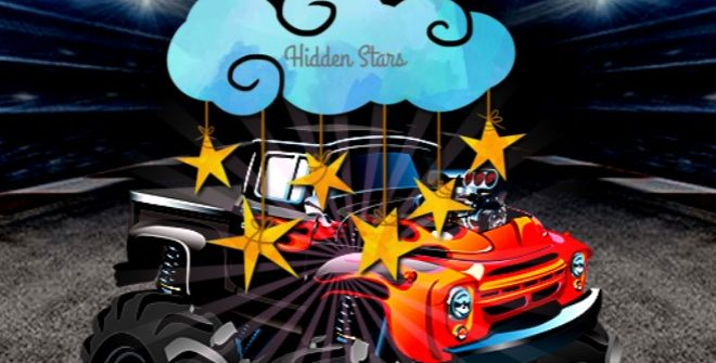 Cartoon Trucks Hidden Stars