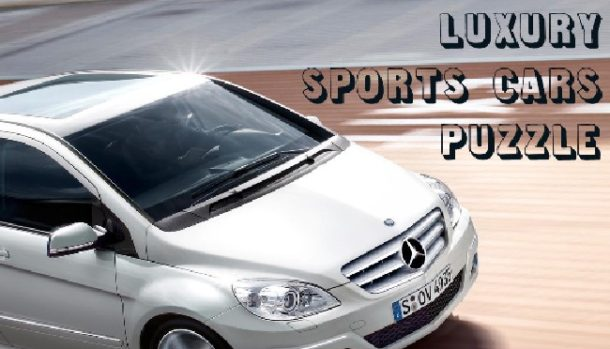 Luxury Sports Cars Puzzle