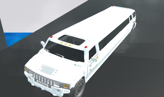 Big City Limo Car Driving 3D