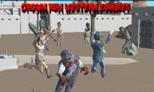 Crown Run Western Zombies