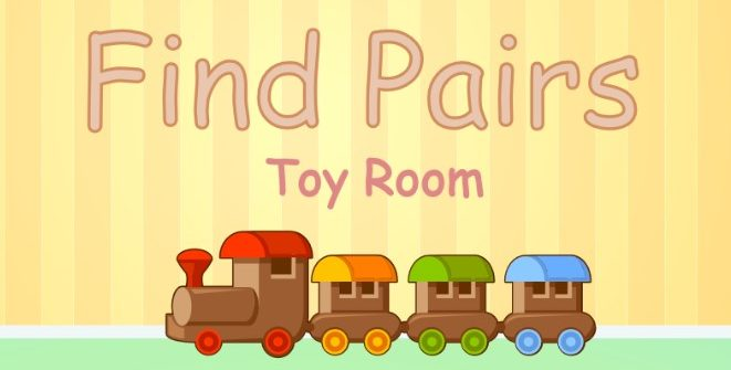 Find Pairs. Toy Room